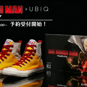Shoes of the Hero –SAITAMA model《一拳超人》UBIQ帆布鞋